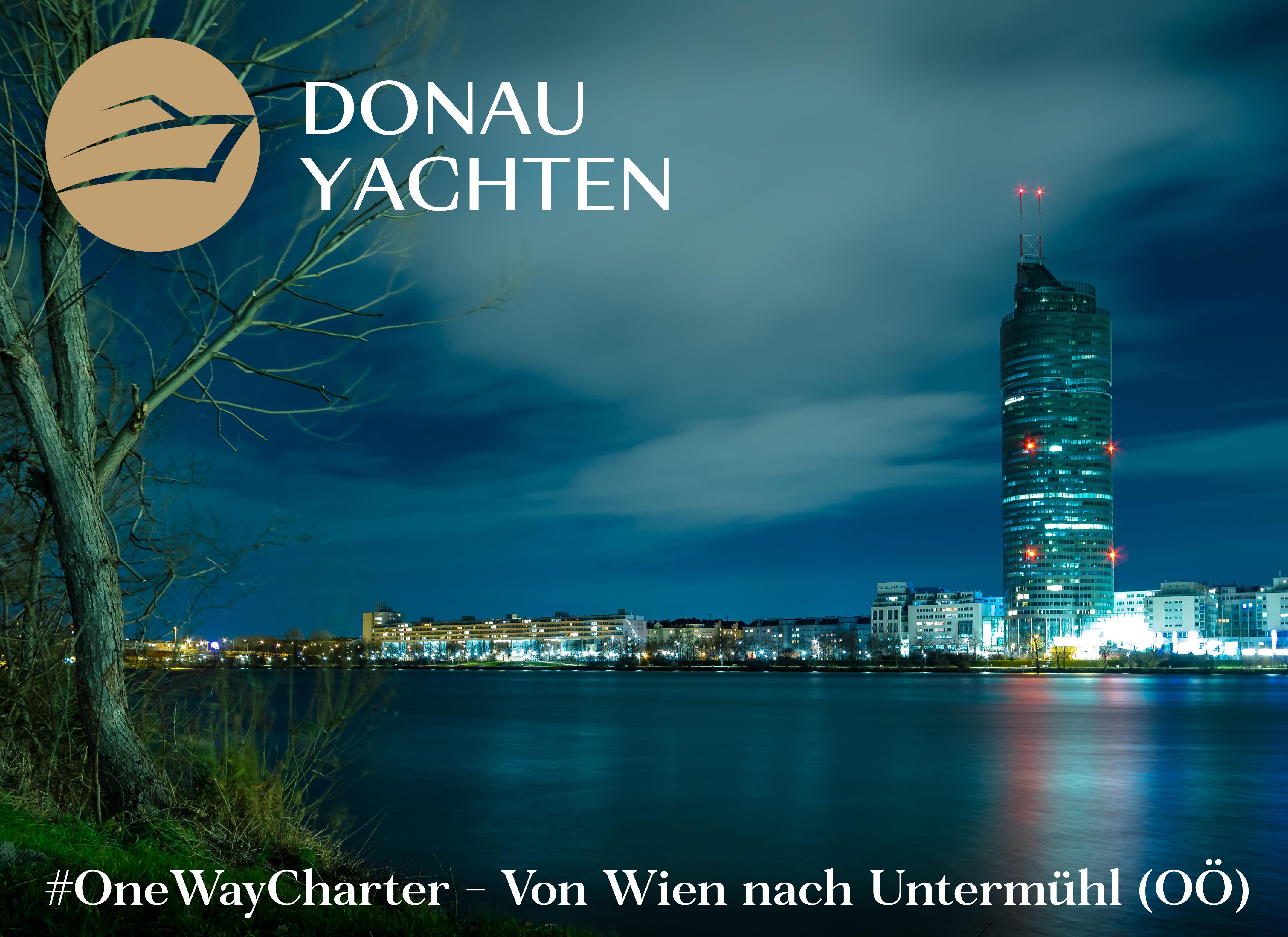 OneWayCharter Wien Untermühl Donau Yachten
